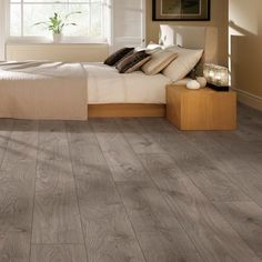 Laminate flooring is a great option for any area within a facility. Grey Laminate Flooring, Waterproof Laminate Flooring, Grey Wood Floors, Best Flooring, Wood Laminate, Vinyl Flooring, Clinic Design, Basement Remodeling, Interior And Exterior