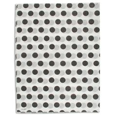 Go Dotty! Spruce up a shopping bag, add pizzazz to gift boxes, or use as gift wrap. This attractive printed tissue from S. Walter completes any packaging look. #tissue #dots #ink #spots