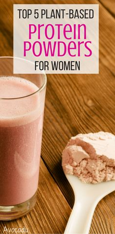 Protein powders are a fantastic way to get in some extra protein. Here are the 5 organic, plant-based protein powders for women! Protein Powder For Women, Vegan Protein Powder, Vanilla Protein Powder, Pureed Food Recipes, Healthy Recipes, Healthy Meals, Healthy Life, Vanilla Plant, Plant Based Protein Powder