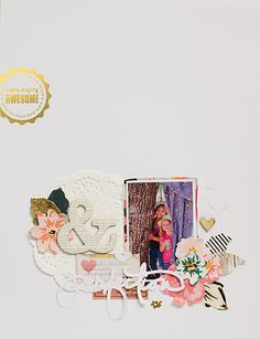 #Papercraft #scrapbook #layout.  perfection by 3littleks at @studio_calico