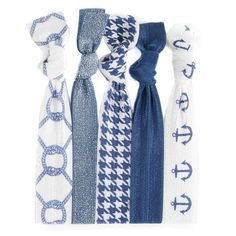 Darby™ Hair Tie Set is for the girl who truely loves a good blazer and gingham uniform!