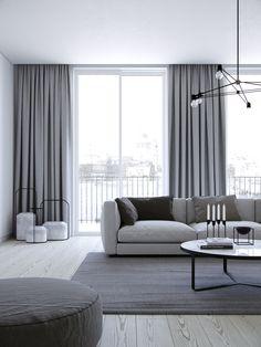 London Apartment on Behance