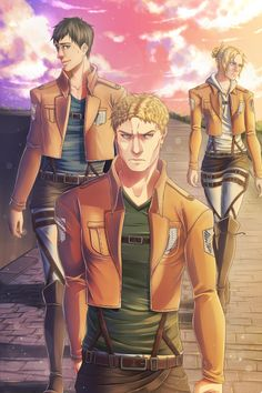 Beefy Blog, Titan Trio by BeefxCake on DeviantArt [Do not remove the source]