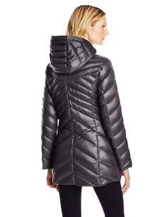 Jessica Simpson Women's Chevron Packable Down Jacket at Amazon Women's Coats Shop