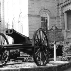 The Double Barreled Cannon in Athens, #Georgia is among the most unusual relics preserved from the Civil War.