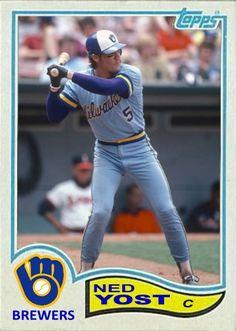 Ned Yost Milwaukee Brewers Royals Baseball, Pro Baseball, Baseball Stuff, Baseball Cards, Milwaukee Bucks, Milwaukee Brewers, Nebraska, Oklahoma, Wisconsin