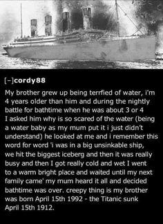 Eery Titanic