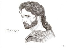 Eric Bana in Troy Hector, tamer of horses