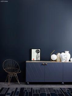 Sophisticated Blue på vegg