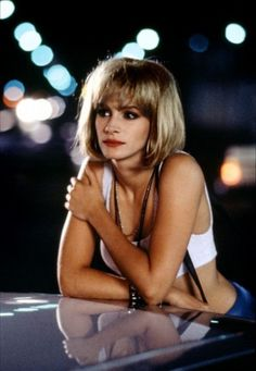 . Julia Roberts as Vivian in Pretty Woman.