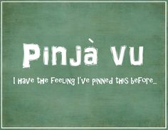 pinja-vu!! I must be drunk if this made me laugh so hard....