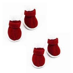 MALLOOM Pet Small Dog Chihuahua Boots Puppy Shoes Christmas Dress up * To view further for this item, visit the image link.