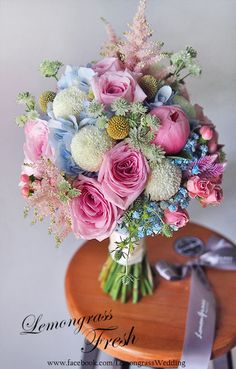 Easter color bouquet