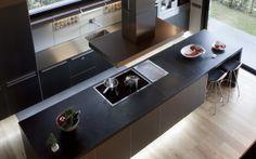bulthaup family kitchen in Puigcerdà | Greek Barcelona #bulthaup #kitchen #design