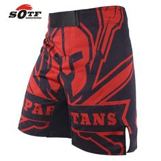 Sports & Entertainment Fitness & Body Building Symbol Of The Brand Guan Yu Portraits Breathable Fabric Sports Training Boxing Shorts Mma Thai Boxing Mma Fight Shorts Boxing Clothing Shorts Mma