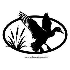 This duck and reed plant figured scroll saw design is suitable for both beginners and craftsmen. You can cut it from materials such as wood, mdf, and plywood. Print the pdf, png, eps file formats and stick it on the material. Cut it by following the lines. You can have a decorative natural life object