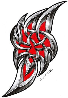 tribal celtic by roblfc1892.deviantart.com on @DeviantArt