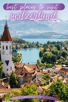 So, are you looking for inspiration and wondering about the best places to visit in Switzerland? Then this post is for you. Whether you are planning in advance or whether you are in Switzerland already and want to do a trip to one of the most beautiful places in. Here you will find out where to go and what to see.