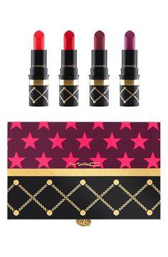 Nutcracker Sweet Red Mini Lipstick Kit (Red) $35- MAC