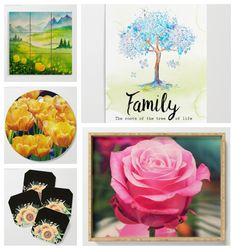5 newest products on my store. There are and - I do have lots of designs. Detail about these products can be check at. Wood Wall Art, New Product, Gift Guide, Roots, Coasters, Tray, Detail, Store, Happy