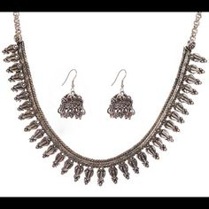 Fabulous India Jewelry Necklace Earrings