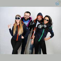 Dikkat! Arkadaşlarla eğlence vakti. Rengini seç, tarzını yansıt! / #Luminous #Sweatshirt 's in stock.