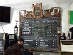 Brew menu