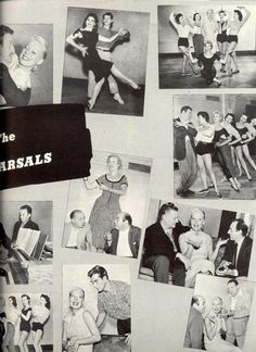 "Carol Channing ""Delilah"" (The Vamp) Souvenir Program Pre-Broadway rehearsal photos 1955 e"