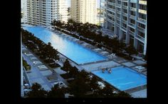 Huge Pool Area At Icon Brickell  Icon Brickell presents exciting opportunities for investors, home owners and renters.   Visit YourMiamiParadise.com for everything you need to know to create your paradise at Icon Brickell.