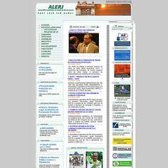 WS AGENCIA DIGITAL - Site da Assembléia Legislativa do Rio de Janeiro -