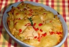 Csirkés tésztarakottas recept