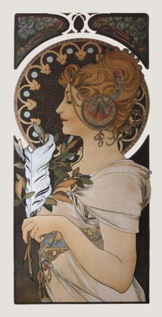 favorite Alphonse Mucha print!