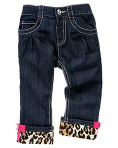 Because youre never too young for leopard print..