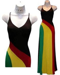 The Rasta Dress.