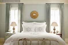 Design Chic: Things We Love: Monograms - love the room color