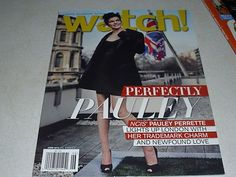 Watch Magazine 6/13 NCIS PAULEY PERRETTE Cover Simon Baker Matt Czuchry and MORE