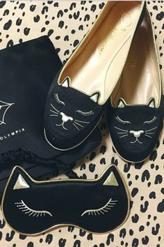 Need those kitten loafers