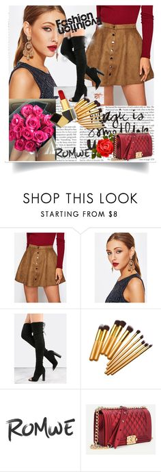 """Romwe1"" by adelisa56 ❤ liked on Polyvore featuring Tom Ford"