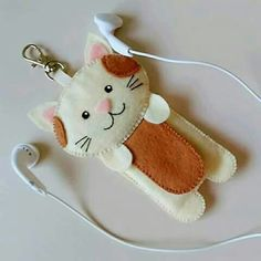 Cat Earphones Case