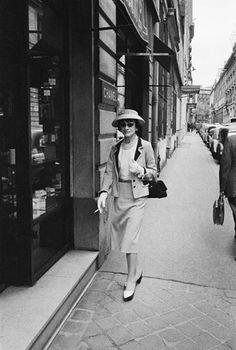 Coco Chanel, Parigi, 1957