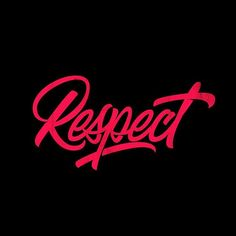 "Amazing ""Respect"" lettering work by (IG). Learn how to create distinct letters from the link below. Typography Images, Hand Lettering Quotes, Doodle Lettering, Script Lettering, Vintage Lettering, Typography Inspiration, Brush Lettering, Lettering Design, Graffiti Lettering"