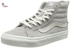 Vans Milton Hi, Sneakers Hautes Femme, Gris (Vintage Floral/Gray/Lavender), 38 EU (5 UK)