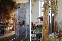 French floral artist Claire Baslers studioElle Decoration