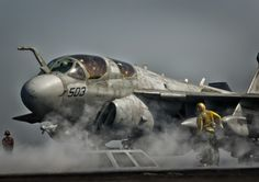 Prowler by Liam McBride on 500px. Setting up to be launched from the deck of the USS Harry S Truman in the Persian gulf.