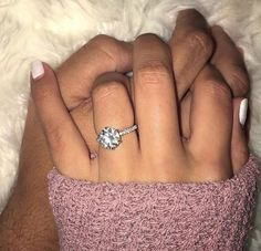 Dream Engagement Rings, Wedding Engagement, Engagement Photos, Wedding Bands, Solitaire Engagement, Engagement Ring Simple, Circle Wedding Rings, Pretty Wedding Rings, Popular Engagement Rings