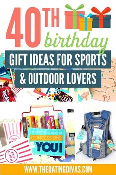 40th Birthday Gift Ideas for Men who Love Sports & the Outdoors! Great boyfriend and husband birthday gift ideas! #40thbirthday #birthdaygiftsformen #husbandgift #boyfriendgift Birthday Gifts For Husband, 40th Birthday Gifts, Man Birthday, Birthday Party Themes, Diy Gifts For Men, Sexy Gifts, 40th Bday Ideas, Birthday Ideas, Cool Money Clips
