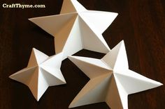 The following tutorial shows how to create a folded paper star that was used in my Fourth of July mantel.  The final star is raised, 3-dimensional, with 5 points. Supplies: Rectangle of Paper (ratio like 8.5 X 11 in but can be smaller or larger)  The small stars in the above 4th of July mantel were a single sheet of 8.5 X 11 inch paper cut in half.  Thick/Cardstock Paper* holds its shape well. Scissors Folding steps: Fold paper in half Take the left hand corner and fold it over to middle of…