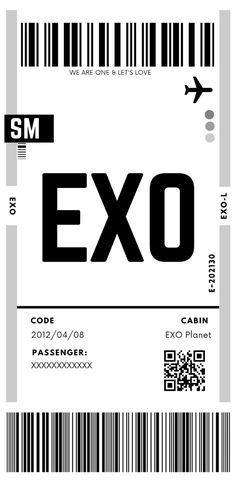 Kpop Exo, Suho Exo, Exo Kai, Exo Tickets, Exo Cartoon, Exo Songs, Exo Album, Shinee, Exo Lockscreen