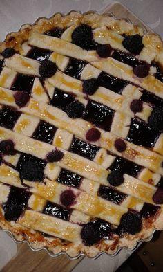 Crostata de mirtilo