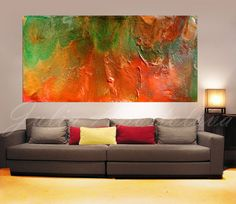 65inch Huge Wall Art Extra Large Abstract por JuliaApostolova